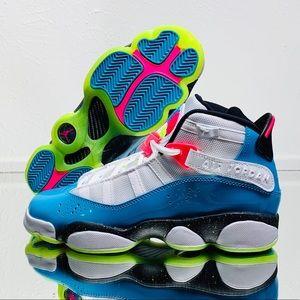 """Nike Air Jordan 6 Rings """"South Beach"""""""